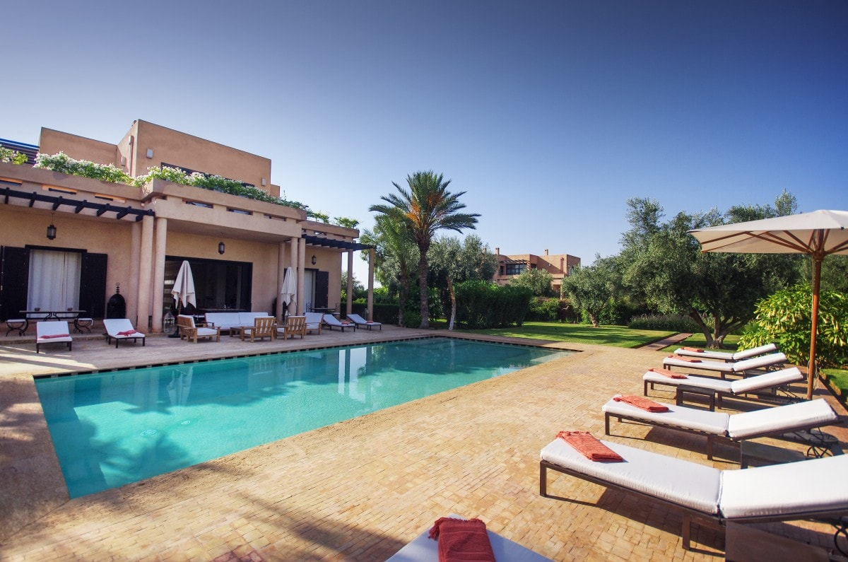La villa marhaba maroc confort luxe concept for Concept villa